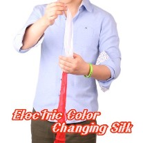Electric Color Changing Silk by Kap Magic  <img border=&quot;0&quot; src=&quot;http://kapmagic.com/products_pictures/FREEshippingw5w.gif&quot; width=&quot;175&quot; height=&quot;50&quot;></p>