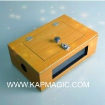 See Thru Tip-Over Box (Wooden) by Kap Magic  <img border=&quot;0&quot; src=&quot;http://kapmagic.com/products_pictures/FREEshippingw5w.gif&quot; width=&quot;175&quot; height=&quot;50&quot;></p>