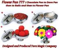 Flower Pan 777 (includes Flowers, etc.) by Tora Magic - Trick   <img border=&quot;0&quot; src=&quot;http://kapmagic.com/products_pictures/FREEshippingw5w.gif&quot; width=&quot;175&quot; height=&quot;50&quot;></p>
